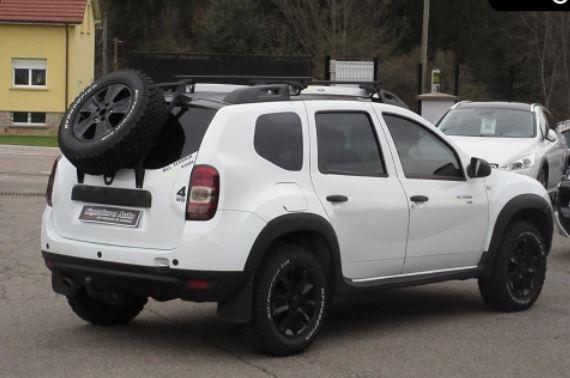 Essai Nouveau Dacia Duster 2018 >> Support Roue De Secours Dacia Duster