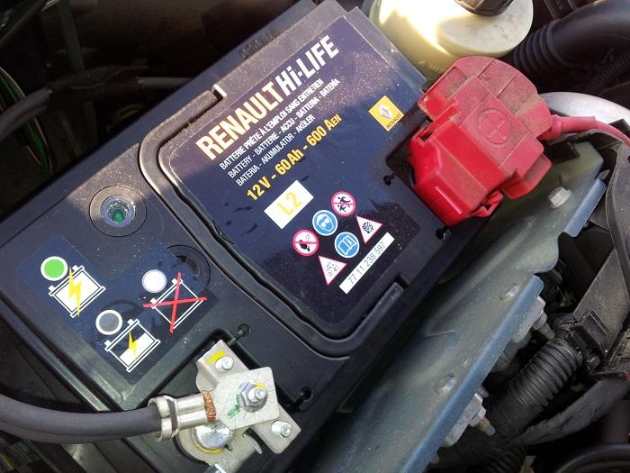 dacia duster batteria