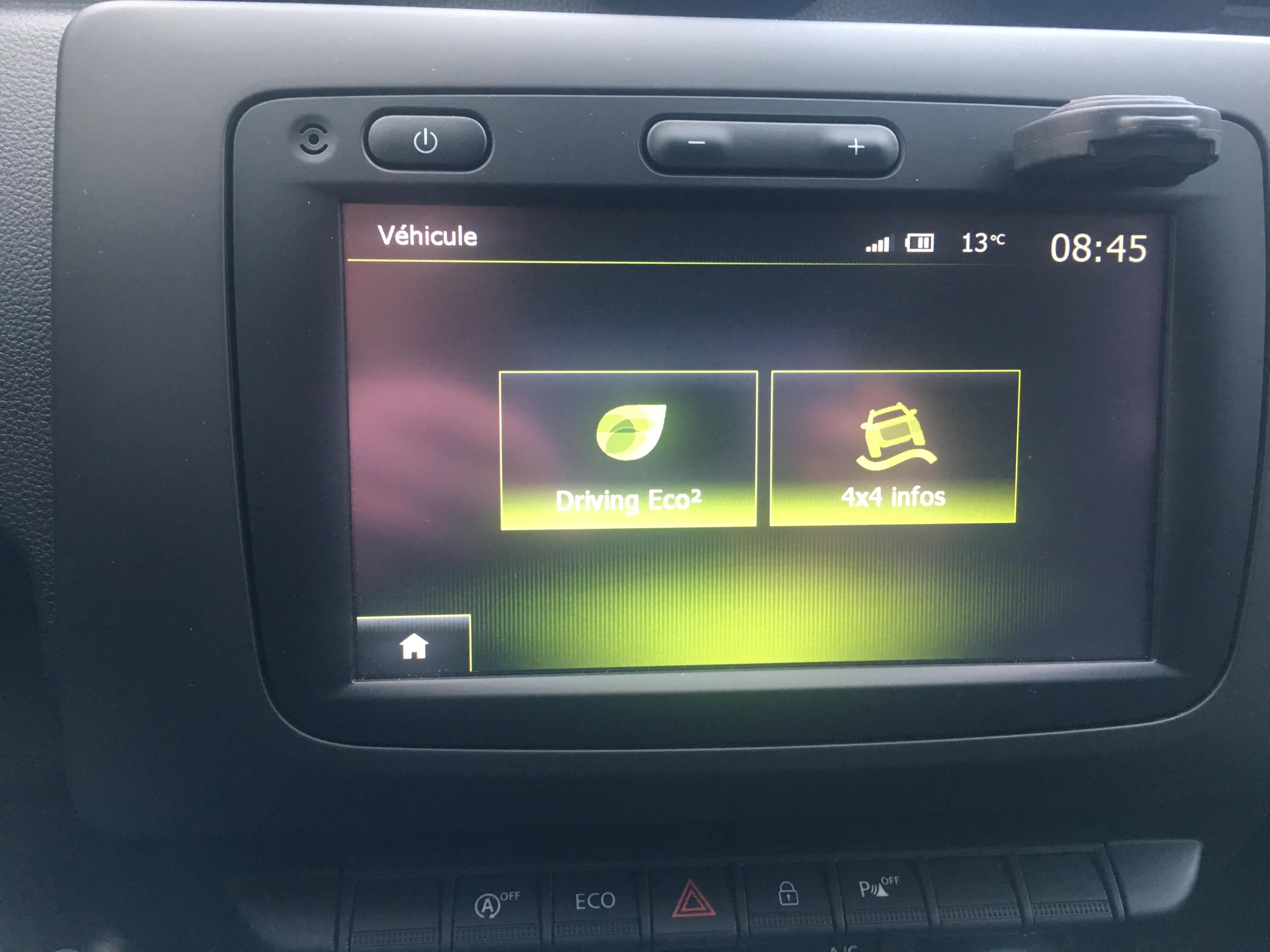 Modification de mon Media Nav sur Duster 2018 - Duster - Dacia