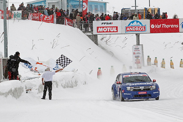 dusterteam troph e andros alain prost s impose val thorens. Black Bedroom Furniture Sets. Home Design Ideas